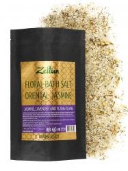 Zeitun Floral Bath Salt Oriental Jasmine - Соль для ванн «Экзотический жасмин» с жасмином, иланг-илангом и сандалом, 500г