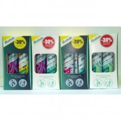 Batiste Volume XXL + Dry Shampoo Tropical - Два сухих шампуня, 2*200 мл.  Общий объем: 400 мл