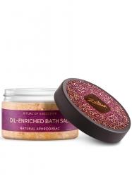 """Zeitun Oil-Enriched Bath Salt - Ароматическая соль для ванн """"Ритуал соблазна"""" с жасмином и маслом макадамии, 250мл"""