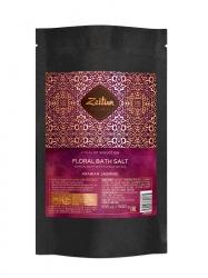 """Zeitun - Цветочная соль для ванн """"Ритуал соблазна"""" с лепестками белого жасмина и эфирными маслами, 500мл"""