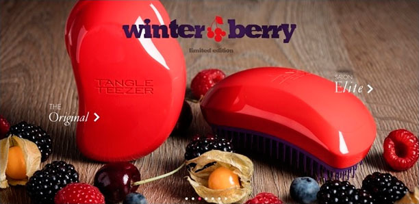 Winter berriies Tangle Teezer